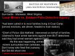 battle of matewan aka matewan massacre1