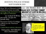 boston police strike september 1919