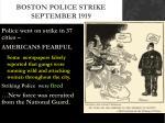 boston police strike september 19191