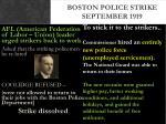 boston police strike september 19192