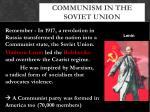 communism in the soviet union