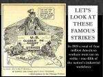 let s look at these famous strikes