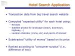 hotel search application