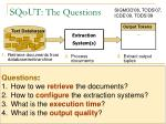 sqout the questions