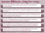 journey of biocon under her wings