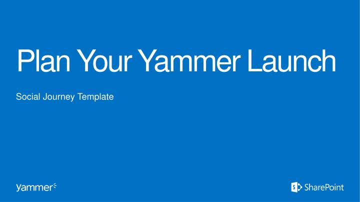 plan your yammer launch n.