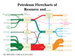 petroleum flowcharts of resource and