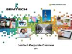semtech corporate overview
