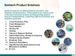 semtech product solutions