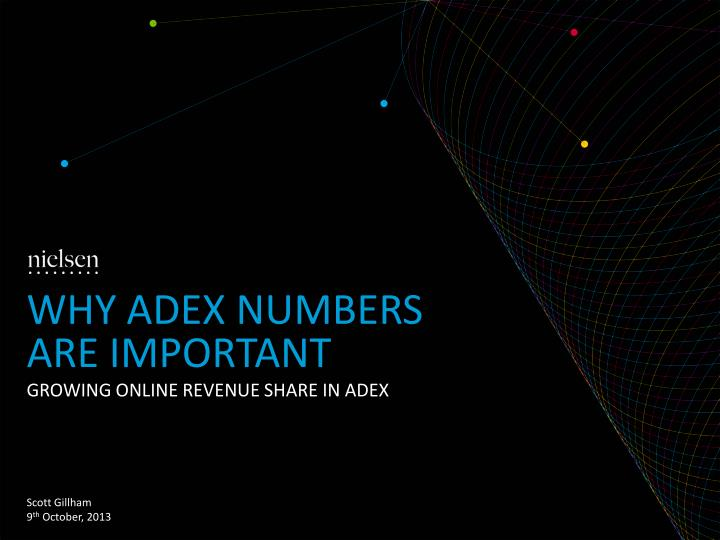 why adex numbers are important n.