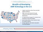benefits of developing smr technology in the u s