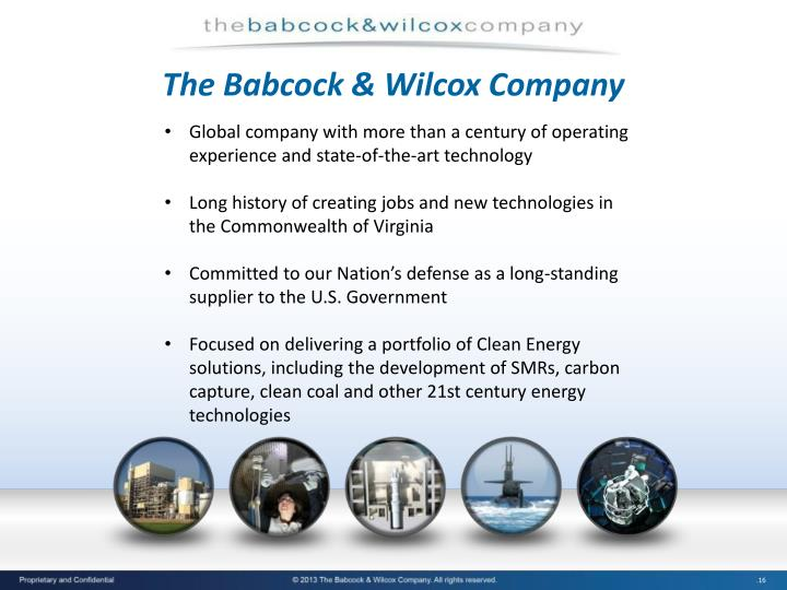 The Babcock & Wilcox Company