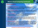 what is cloud computing continued