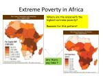 extreme poverty in africa