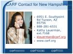 carf contact for new hampshire