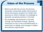 value of the process1