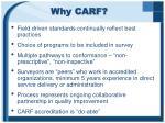 why carf