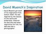 david muench s inspiration