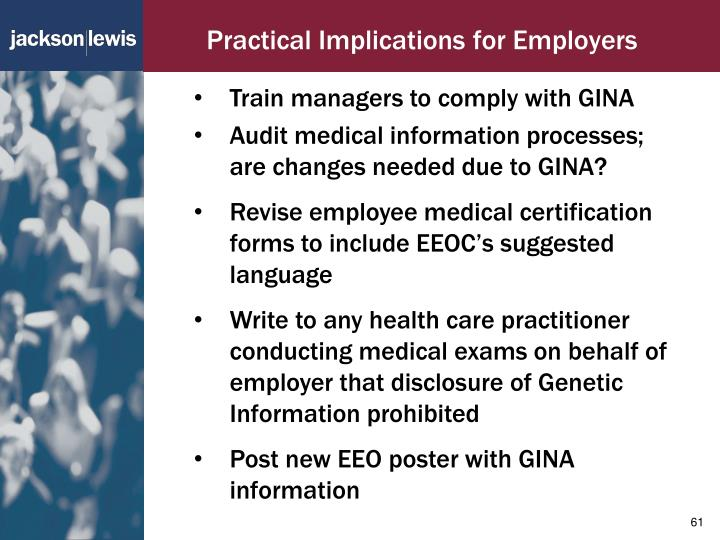 Practical Implications for Employers