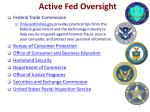 active fed oversight