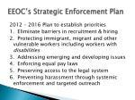 eeoc s strategic enforcement plan