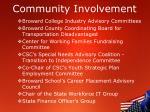 community involvement2