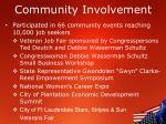 community involvement4