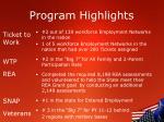 program highlights1
