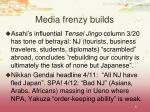 media frenzy builds