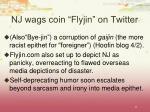 nj wags coin flyjin on twitter