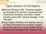 open season on nj begins