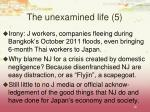 the unexamined life 5