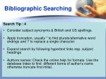 bibliographic searching3