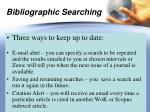 bibliographic searching4