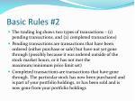 basic rules 2
