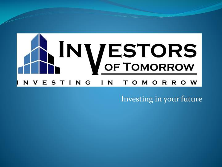 investing in your future n.