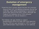 evolution of emergency management2