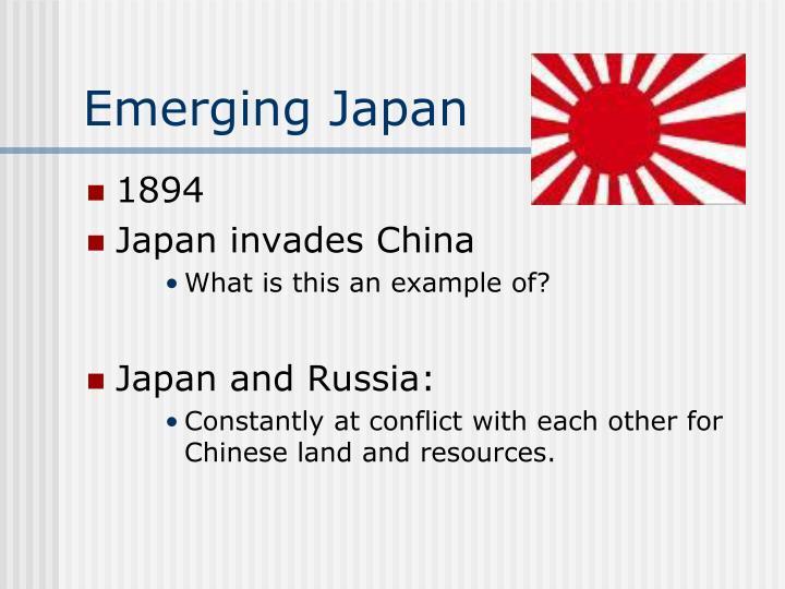 Emerging Japan
