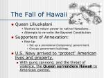 the fall of hawaii