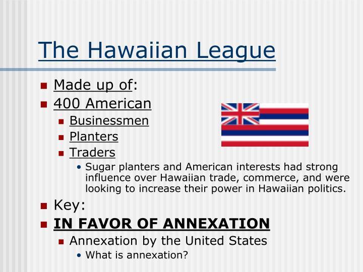 The Hawaiian League