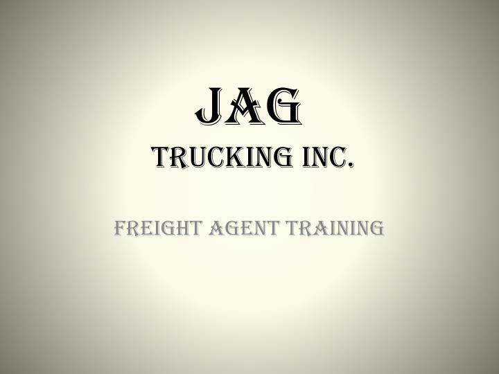 jag trucking inc n.