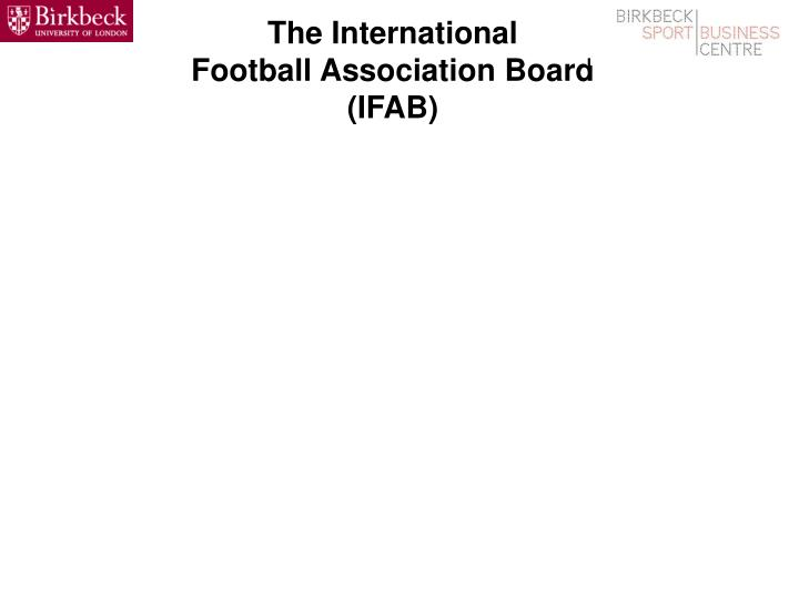 the international football association board ifab n.