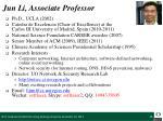 jun li associate professor