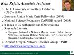 reza rejaie associate professor