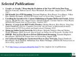 selected publications2