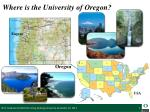 where is the university of oregon