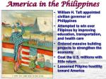 america in the philippines