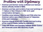 problems with diplomacy