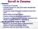 revolt in panama