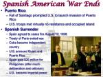 spanish american war ends